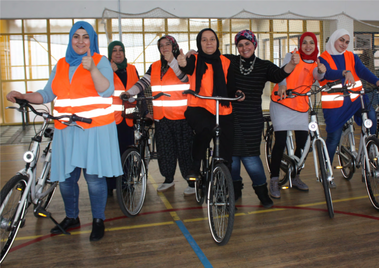 Boost fietsles voor vrouwen