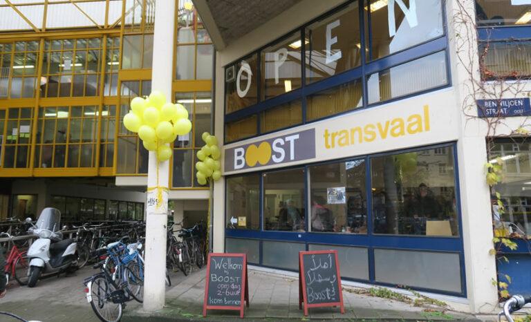 Boost Amsterdam ingang