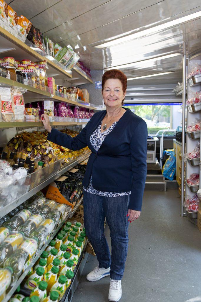 Kies! sociale supermarkt vrijwilliger Alma
