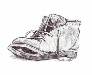 Illustratie schoen