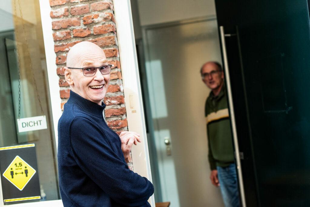 Bezoeker Frank, inloophuis De Bres