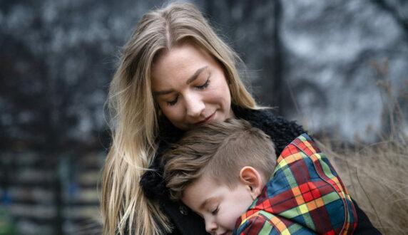 Moeder en kind - Jessie & Bilal