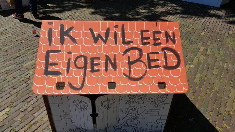 Persfoto StraatConsulaat_ik wil een eigen bed